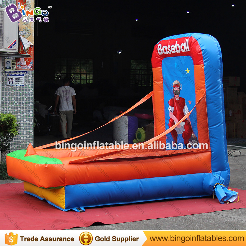 Прочный 1,3x2,5x2 м надувная площадка для бейсбола, метания типа карнавальных игр для взрослых и детей, игрушка для стрельбы, вышибатель, бесплатная доставка - 4