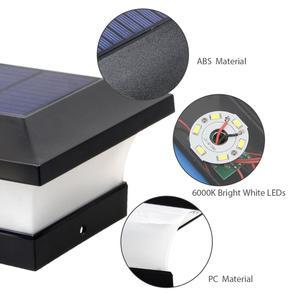 Image 5 - T SUNRISE SOLAR Fence Light IP65 กลางแจ้งพลังงานแสงอาทิตย์สำหรับตกแต่งสวนรั้วประตูรั้ว Wall Courtyard Cottage โคมไฟพลังงานแสงอาทิตย์