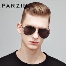PARZIN Classic piloto gafas de sol de los hombres de moda de conducción  masculina gafas sol polarizadas de lujo moda Accessories. 557f5207d097