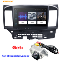 FEELDO 10.2 inch Android 8.1 10.2Quad Core Car Media Player With GPS Navi Radio For Mitsubishi Lancer EX(2007 present #971
