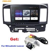 FEELDO 8,1 дюймов Android 10,2 10,2 quad core автомобильный медиа плеер с gps Navi Радио для Mitsubishi Lancer EX (2007 Н. В. #971