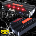 Перейти Начинающих 12 В 4 USBCar Перемычка Стартер 600A peak current Power bank Зарядное Устройство для Мобильного Телефона для Ноутбука SOS свет
