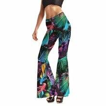 New Arrival 0017 Sexy Girl Fishy goldfish 3D Prints Spandex Elastic Fitness Dance Bell bottoms Women leggings Pants Plus size