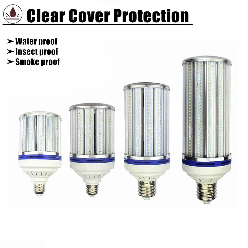 Haute baie LED ampoule e27 e40 80 w 100 w lampe à LED AC220v 230 v 240 v 50/60 hz e40 100 w LED ampoule de maïs remplacer 400 w hps halogénure métallique