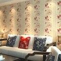 Chino pintado no tejido de La sala de estar del hotel casa de té en muy buena fortuna de fondo