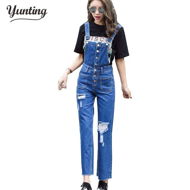 Sexy jeans jumpsuit
