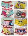 Free shipping 5 pcs/lot High quality 100% cotton cartoon men's Boxer / men underwear (Mix 24 Styles) Lovely&Sexy