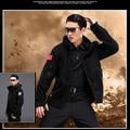 Bristol Parka Jacket 100% Polyster Tactical Fleece Hoodies Black Oliver green Khaki