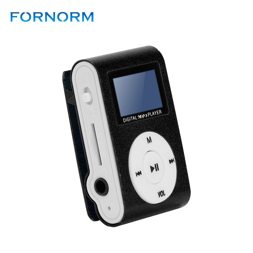 Clip Sport MP3 Player with LCD Screen Digital Compact and Portable Mini MP3 support 16GB Micro SD Card Music Player With A Clip