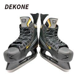 Хоккеист на коньках из нержавеющей стали лезвие ПВХ держатель лезвия Pro ищу хоккейный поезд хоккейный центр хоккейная обувь