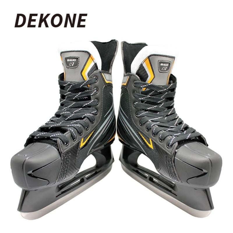 Ice Hockey Skate Stainless Steel Blade PVC Blade Holder Pro Looking For Ice Hockey Train Hockey Center Hockey Shoes