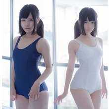 Аниме Стиль 1 шт SUKUMIZU купальник Косплей Костюм японское школьное бикини купальник женские бикини для плавания костюм топ одежда для плавания
