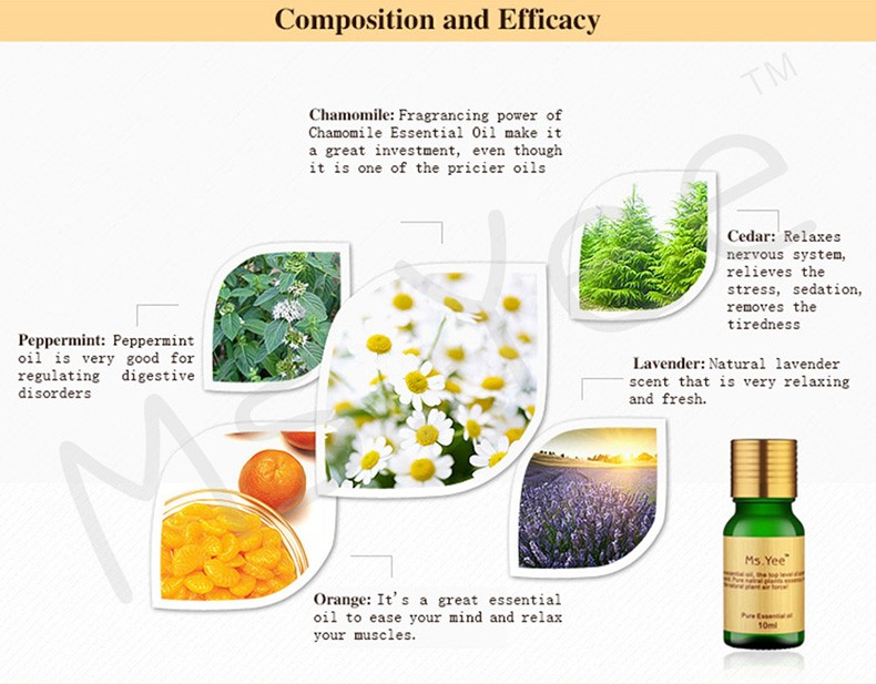 Essential Oils for Aromatherapy Diffusers Pure Plant Extracts Oil for Skin Care Anti Aging & Neck Bath Body Massage Olie 10Ml 3
