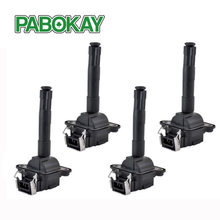 4 pieces x Ignition Coil For Audi A6 S4 Allroad Quattro 058905105 4A0905351A 058905101 058905105A 0986221011 7805-6558 5C1035(China)