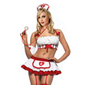 2016 Women Sexy Nurse Costume Erotic Lingerie Role Play Sexy Nurse Uniform Set Porn Erotic Sexy Lingerie G-string Skirt 35
