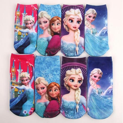 Носки для девочек 4 /3d calcetines