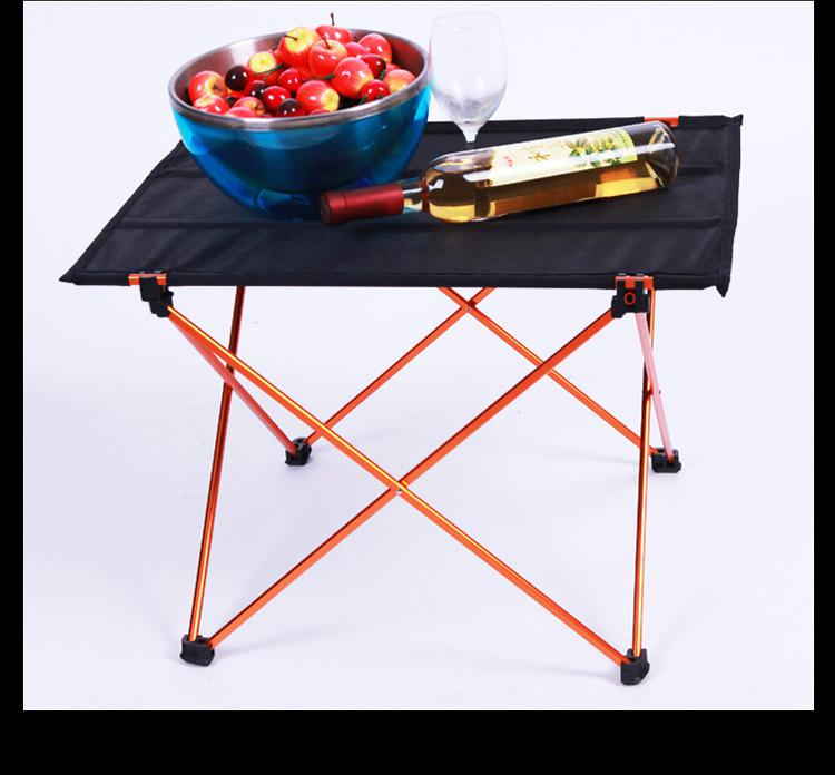 купить Ultralight Leisure Folding Tables Portable Camping Table Outdoor Aluminium Alloy Folding Picnic Table по цене 651.42 рублей
