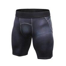 Летние Осенние мужские спортивные быстросохнущие шорты для бега, компрессионные дышащие шорты для занятий спортом