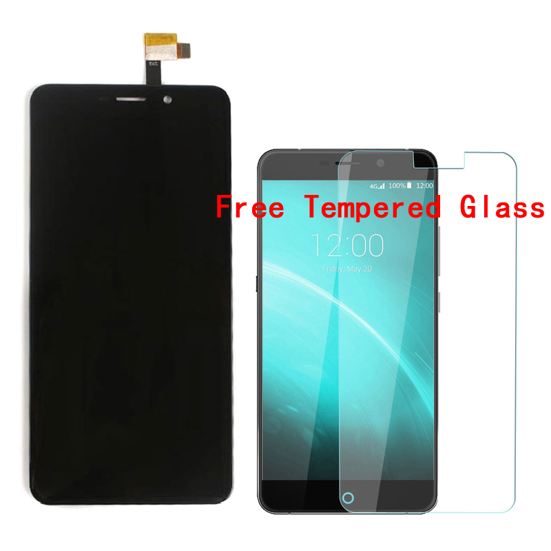 100 Original For Umi Super LCD Display Touch Screen Digitizer Replacement With Free Tempered Glass