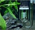 Aquarium CO2 Diffuser Check Valve U Shape Glass Tube Suction Cup For Tube Plants Tank Atomizer Solenoid Regulator Moss