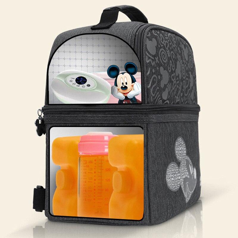 Disney Milk Food Storage Thermal Bag Warmer Box Baby Feeding Bottle Thermal Keeps Drinks Cool Backpack Mummy Bags Diaper Bags