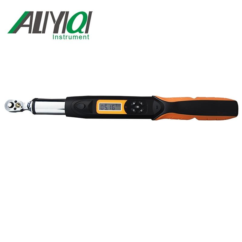 Aliyiqi 200N. m 1/2 Цифровой Динамометрический ключ AWG4 200Bidirectional трещотка головка 36 зубов Высокая точность 2% высокое качество инструменты