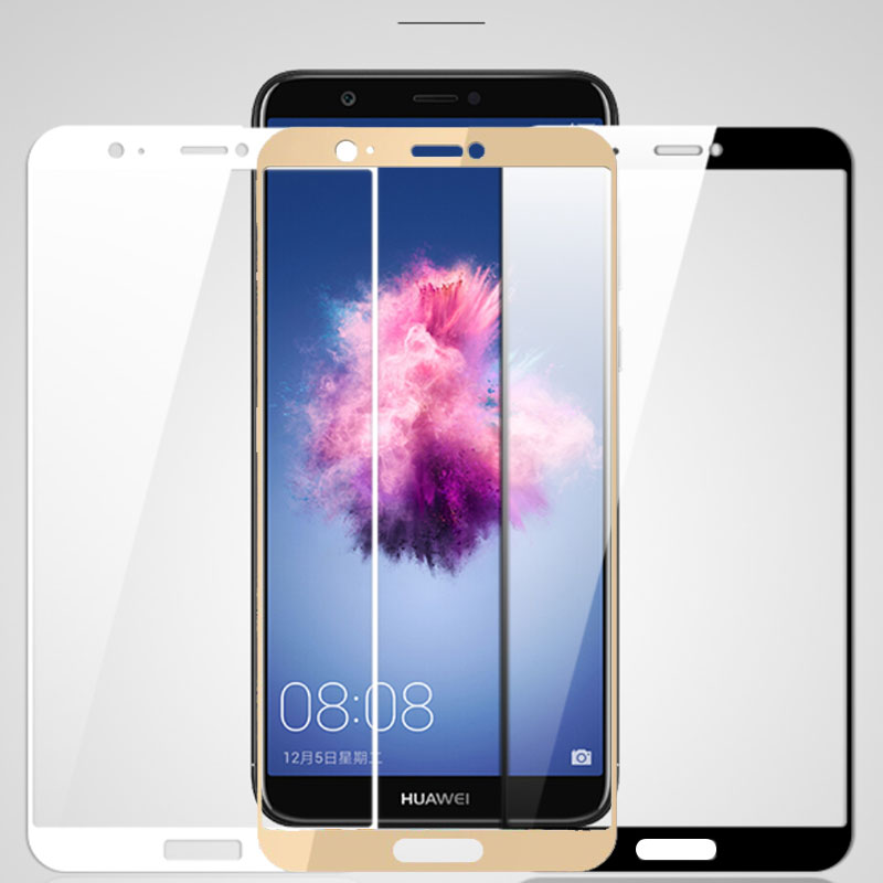 Full Cover Protective Glass For Huawei P Smart 2019 Screen Protector On Huaweey PSmart Plus Front  Safety Tempered Glass Film