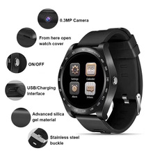 Купить с кэшбэком Smart Watch Men Women Bluetooth Touch Screen Band Wristband Smartband Sport SIM TF Card Waterproof VS V8 V9 Y1 QW09 Smartwatch
