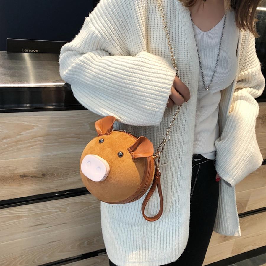 Solid Color Tote Ladies Bag Shoulder Bag Designer Hangbag Womens Bags Handbags - Brown - 1 x Mini Baby Shoulder Bag