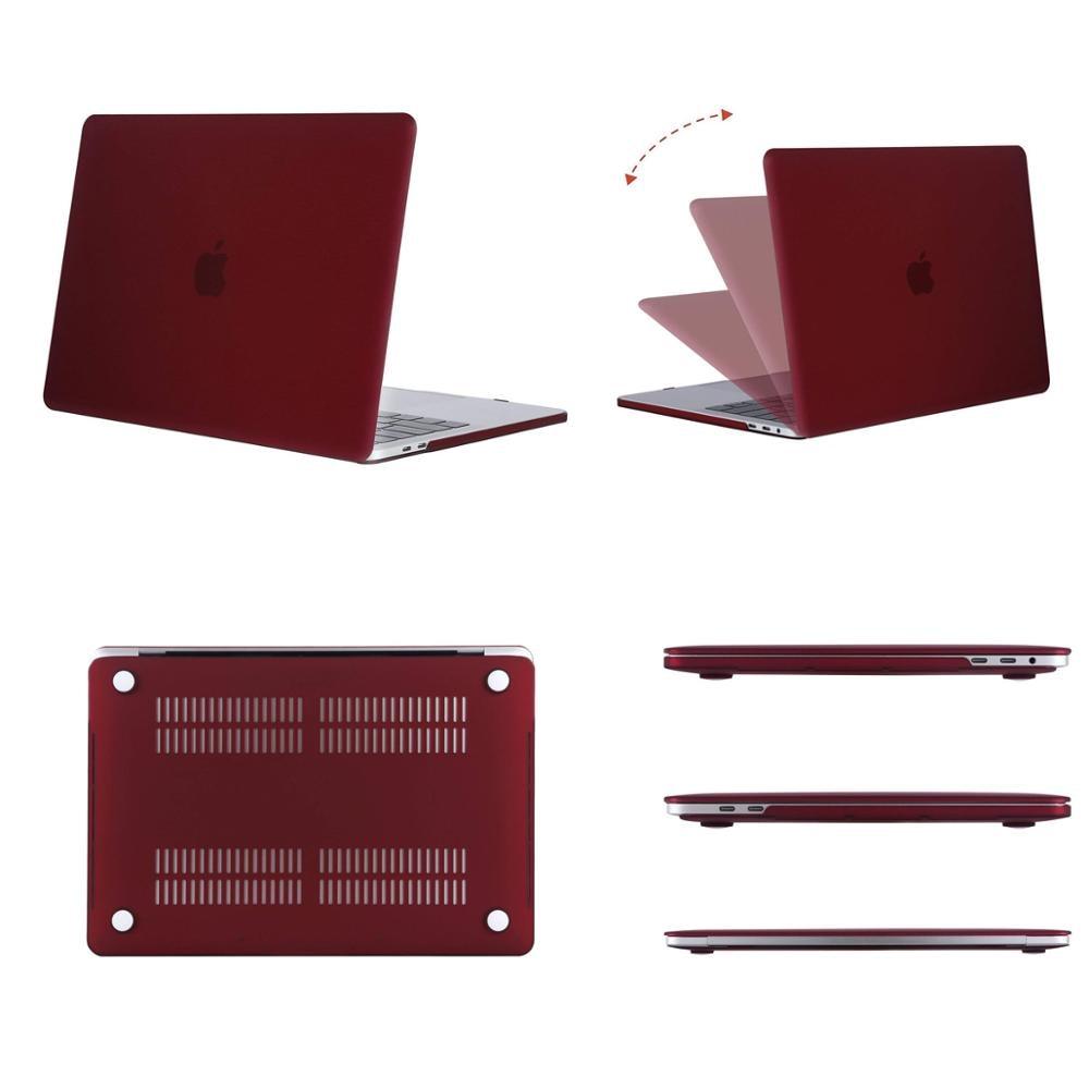 MOSISO Crystal Matte Case для Macbook Pro Retina 11 12 Air - Аксессуары для ноутбуков - Фотография 2