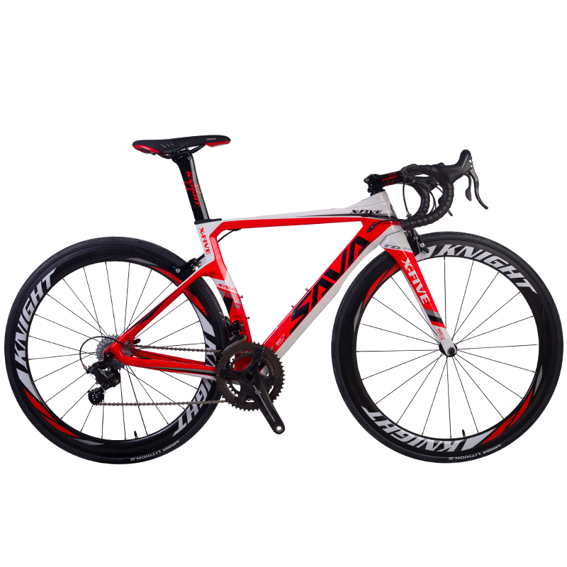 Savadeck Phantom 8 0 700c Carbon Fiber Road Bike Cycling Bicycle