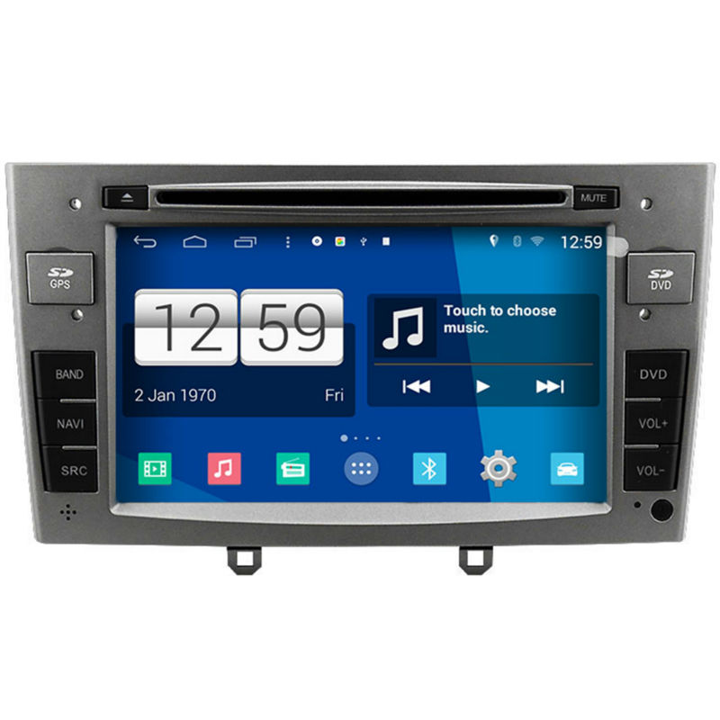 Winca S160 Android 4.4 System Car DVD GPS Head Unit Sat Nav for Peugeot 308 / 408 with Wifi / 3G Host Radio Stereo