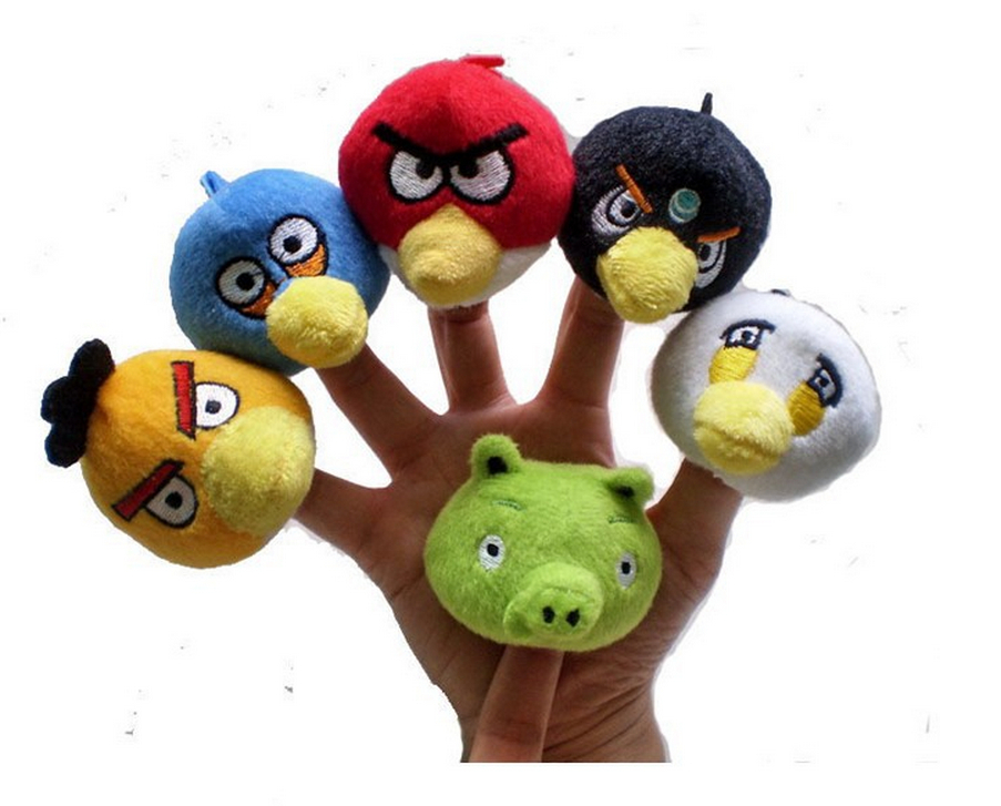 New Stylish Happy Bird Finger Puppet Baby Toy For Boys Girls Plush Soft PP  Cotton Toys 6PCS New-in Puppets from Toys & Hobbies on Aliexpress.com    Alibaba ...