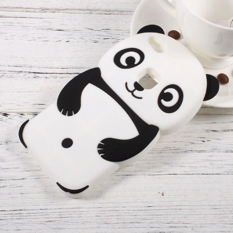 Para huawei p10 lite casos lindos 3d panda de silicona accesorio del teléfono bo