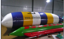water sport games inflatable water banana boat fly tube fishing for 6 persons