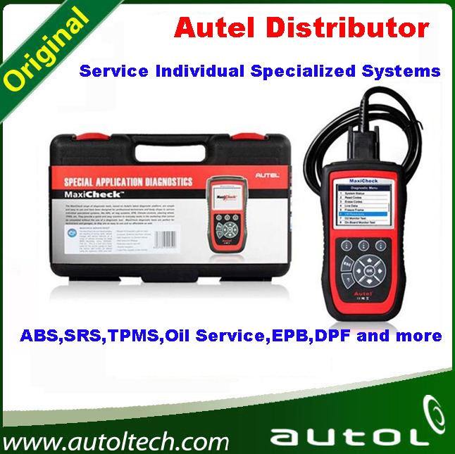 100 Original Spe cializ ed Systems Diagnostic Scan tool AUTEL MaxiCheck Pro ABS SRS font b