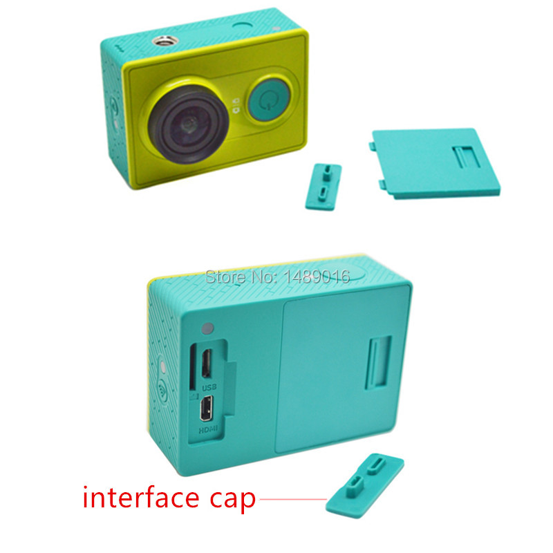 USB Port Cover for Xiaomi YI Camera Camera Accessories Battery Cover