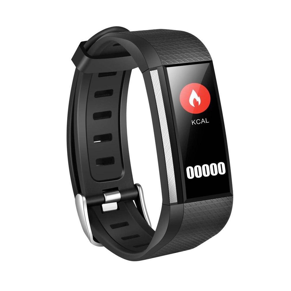 M200 Color pantalla Smart banda Wistband ritmo cardíaco Monitor de oxígeno de presión arterial Fitness Tracker Smart pulsera reloj