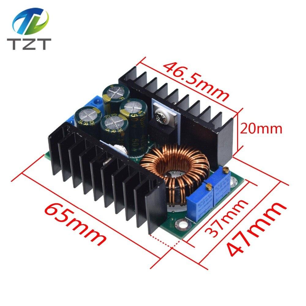 Регулируемый понижающий преобразователь постоянного тока/СС 0,2-9 А, 300 Вт, модуль питания от 5-40 В до 1,2-35 в, светодиодный драйвер для Arduino