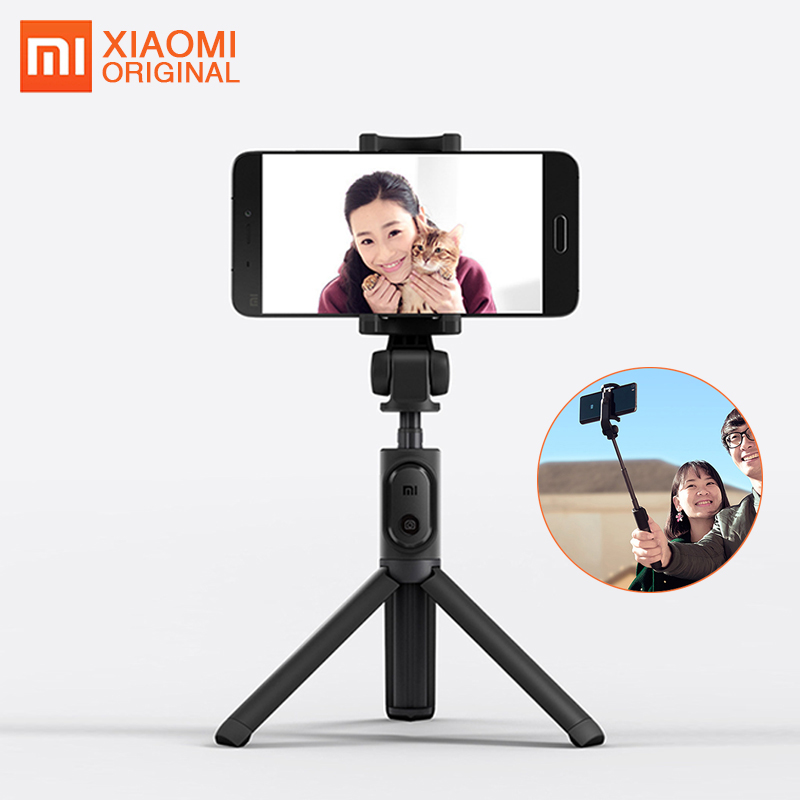 все цены на Original Xiaomi Selfie Stick Tripod Bluetooth Mi Palo Wireless Selfiestick Bastone Selfie for Iphone 7 Huawei Samsung Monopod