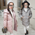 Children Outerwear Girls Cotton Hooded Coats Winter Jacket Kids Coat Children's Winter Clothing Girls Down & Parkas