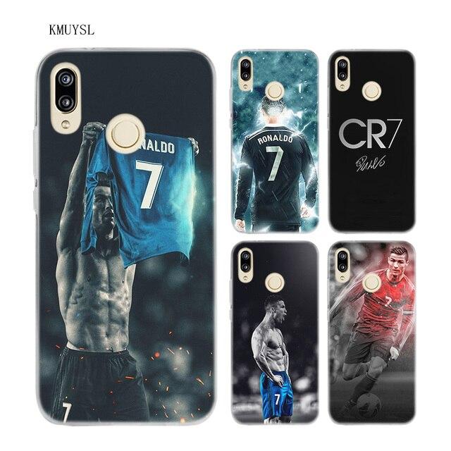 8c2b4ce469a KMUYSL Real Cristiano Ronaldo CR7 Transparent Soft Case Cover Capa Fundas  for Huawei Huawei P20 Lite