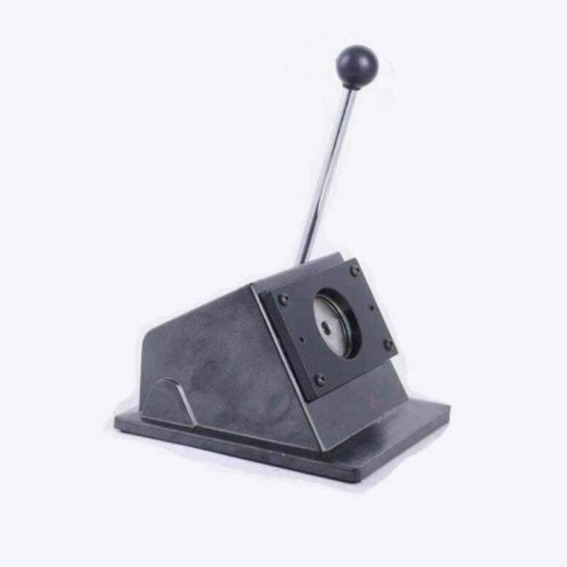 Coupeur rond manuel d'insigne de coupeur de papier de bouton rond faisant des boutons de goupille de 25/32/37/44/58mm - 4