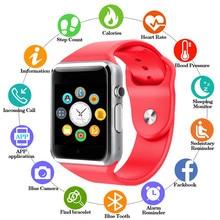 2019 New Smart Watch Clock Sync Notifier Support SIM TF Card Connectivity Apple iphone Android Phone Women Men Smartwatch GT08 стоимость