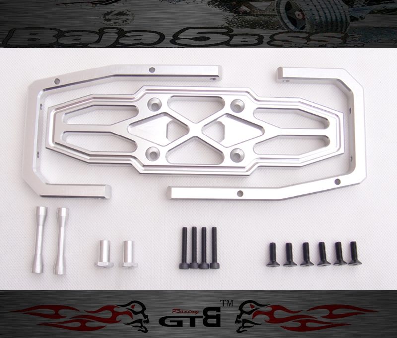 GTBRacing Alloy Rear Bumper for hpi km rv baja 5b ss GR022 купить