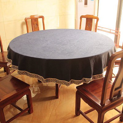 Round tablecloth new simple modern table cloth simple European tea table round tablecloth in Tablecloths from Home Garden