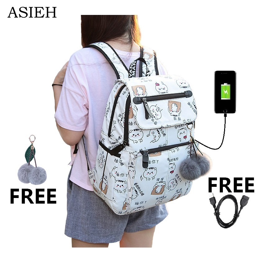 New Arrival Student School Bags for Teenager Boys Girls Multi Function Laptop School Backpack women bagpacks girl bag cute держатель напитков в авто 1