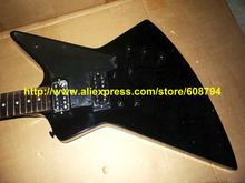 97112b86e78 Stock Black Korina Explorer Electric Guitar Body IN scratches from china