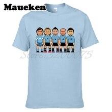 Hombres uruguay leyendas Álvaro Recoba Paolo Montero Diego Forlán Enzo  Francescoli Luis Suarez camiseta W0523006( c9d8cb79095a0