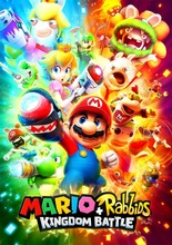 Mario Rabbids Kingdom Battle  SILK POSTER Decorative Wall painting 24x36inch mario rabbids битва за королевство фигурка кролик марио 3